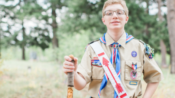 How Scouting Helped This Young Man Push Beyond Adversity and Achieve Eagle Scout